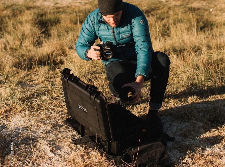 B&W outdoor case